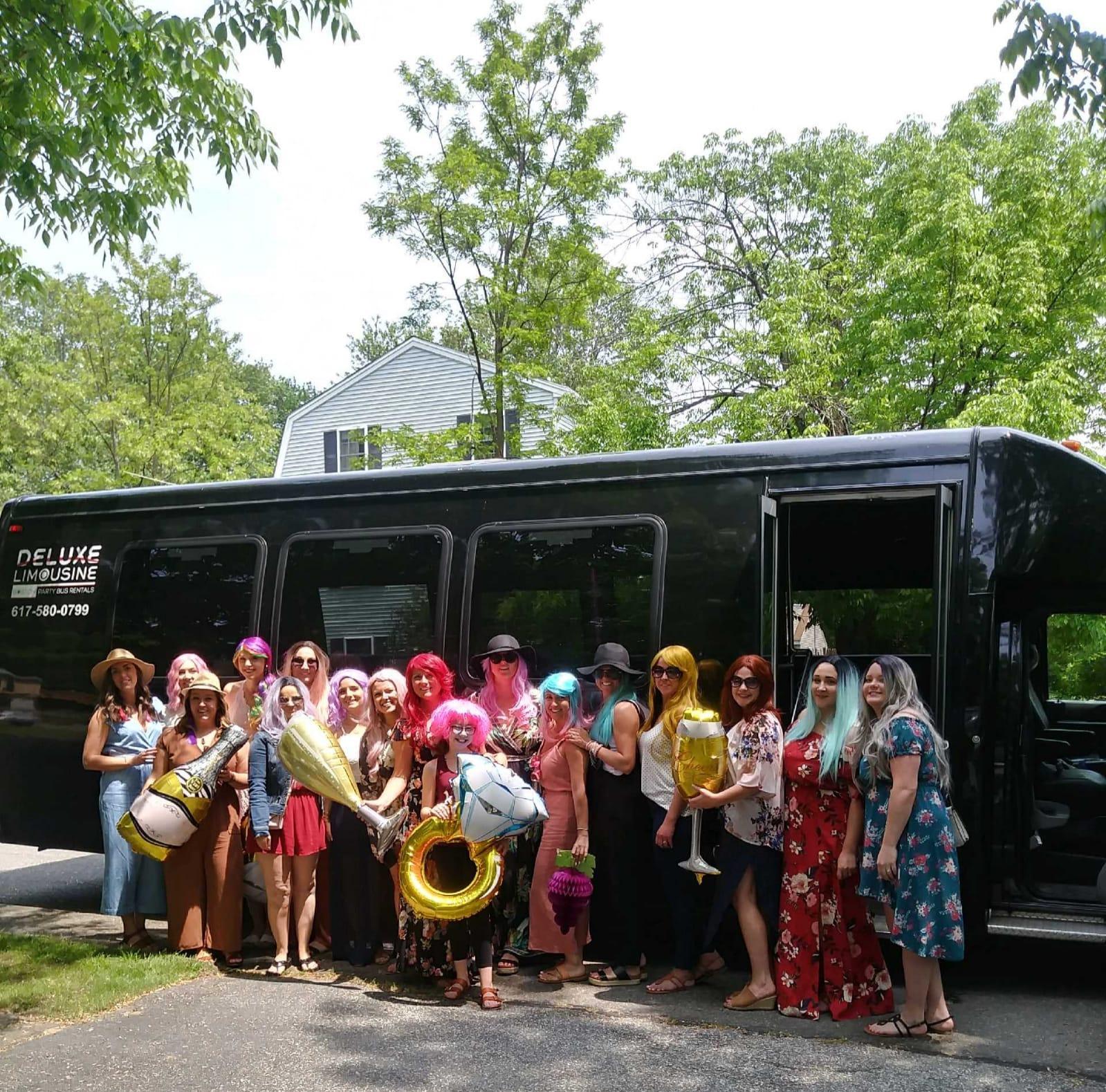 18-20 Passenger-Party-Bus-Bachelorette-party