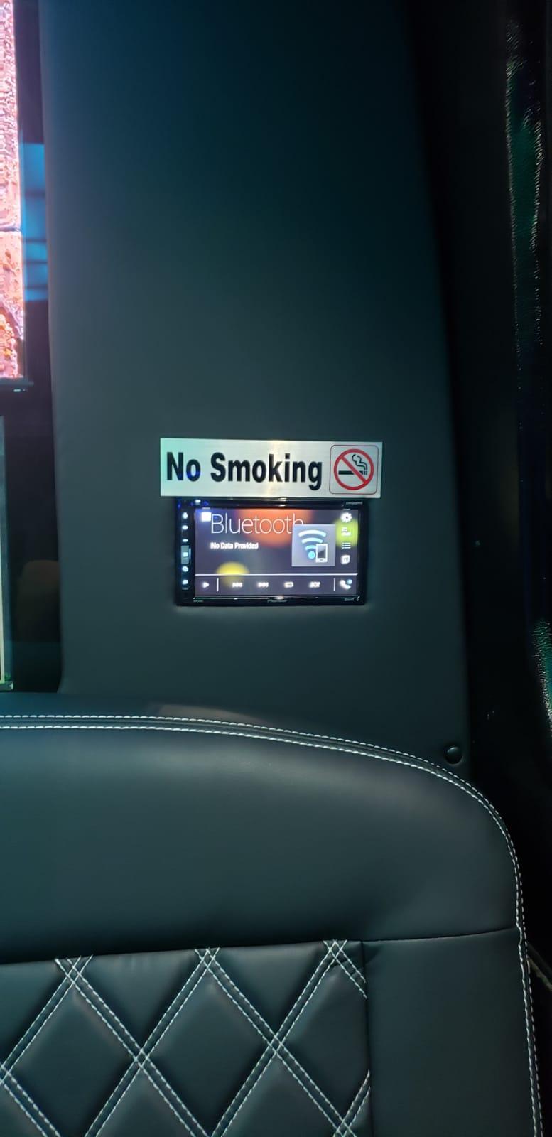 10-14 PASSENGERS PARTY BUS - Inside No Smoke