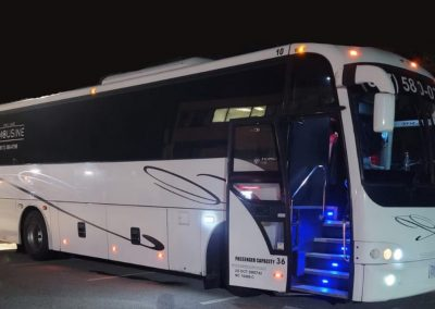 Boston Party Bus Rentals 36 Passengers with bathroom
